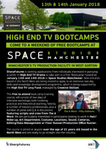 BBC One's The A Word, Space Studios Manchester and Creative
